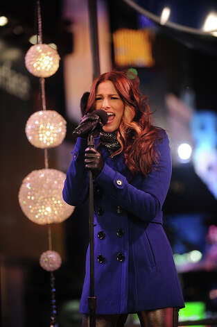 "NEW YORK, NY - DECEMBER 31:  ""The Voice"" winner Cassadee Pope performs on the NIVEA Kiss Stage in Times Square on New Year's Eve 2013 at Times Square on December 31, 2012 in New York City. Photo: Brad Barket, Getty Images For NIVEA / 2012 Getty Images"
