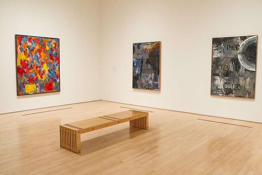 "Installation view of ""Jasper Johns: Seeing With the Mind's Eye"" at the S.F. Museum of Modern Art. Photo: Drew Altizer, Claudine Gossett For Drew Altize"
