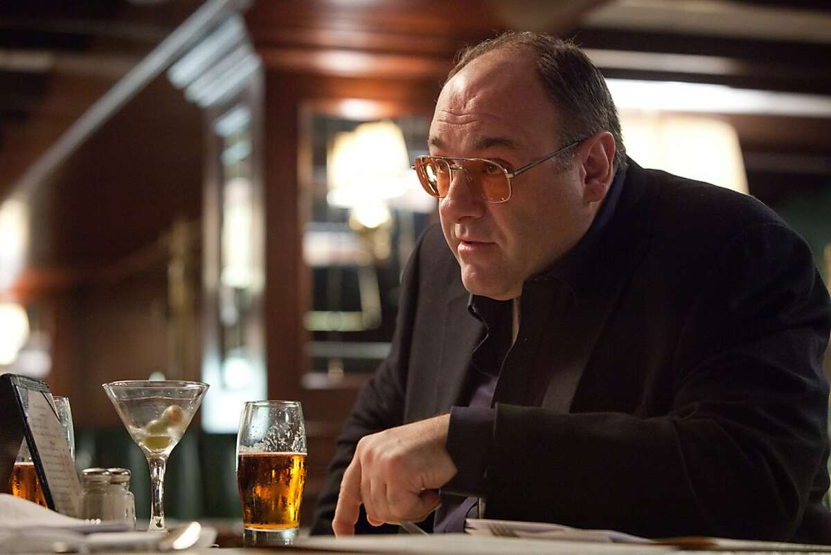 """FILE - This publicity film image released by The Weinstein Company shows James Gandolfini in a scene from """"Killing Them Softly."""" In the five years since """"The Sopranos"""" ended, Gandolfini has eschewed the spotlight, instead disappearing into character actor performances such as this one. These roles, while they may lack the iconography of Tony Soprano, have only further proved the actor's wide-ranging talent. (AP Photo/The Weinstein Company, Melinda Sue Gordon, File)"""