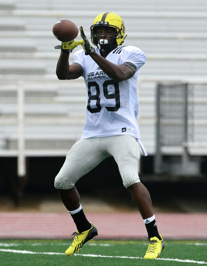 West receiver Ricky Seals-Jones of Sealy is excited about the prospect of playing at Texas A&M with Johnny Manziel.  John Albright / Special to the Express-News. Photo: JOHN ALBRIGHT, Express-News / San Antonio Express-News