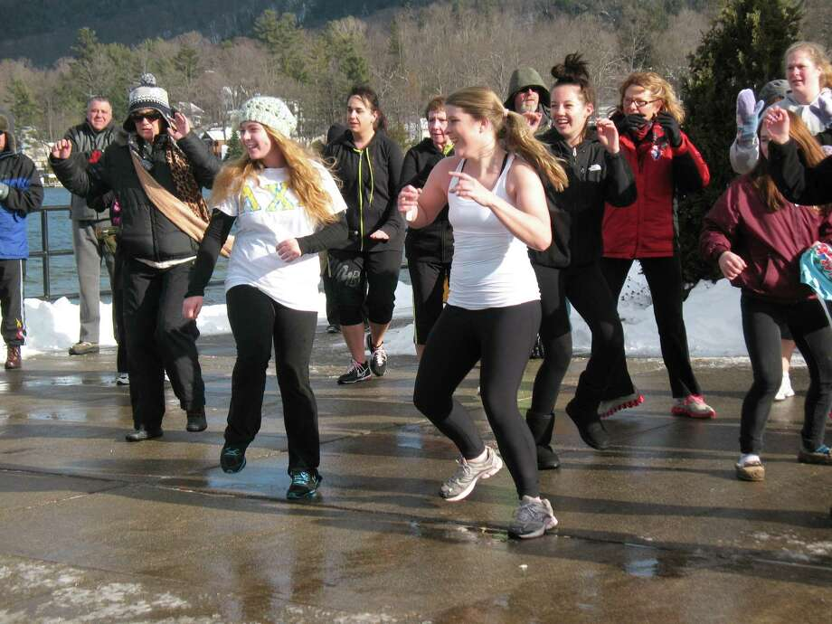 Were you Seen kicking off the new year at the annual Polar Plunge in Lake George on Tuesday, Jan. 1, 2013? Photo: Kiley Stevens