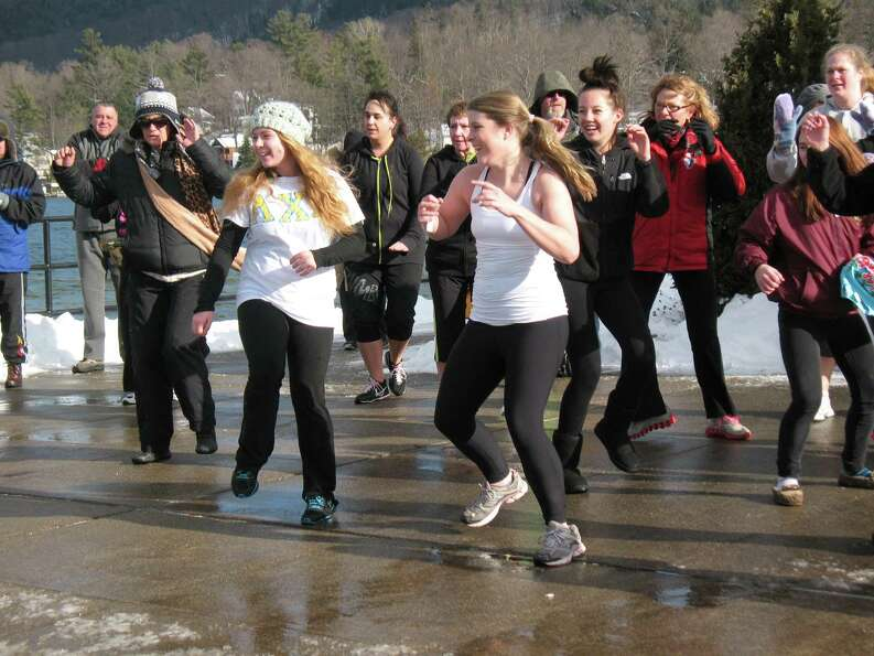 Were you Seen kicking off the new year at the annual Polar Plunge in Lake George on Tuesday, Jan. 1,