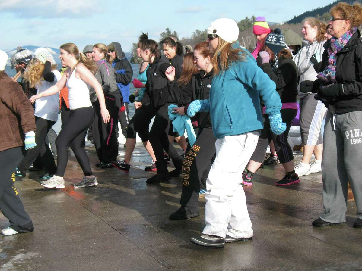 Were you Seen kicking off the new year at the annual Polar Plunge in Lake George on Tuesday, Jan. 1, 2013?