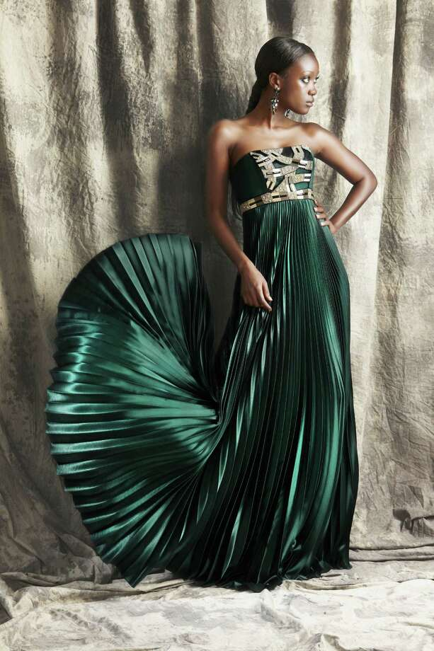 A jewel from THEIA fall 2012-13 collection in emerald.