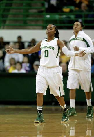 Guard Odyssey Sims missed much of Baylor's streak-busting loss to Stanford with an injury. Photo: Tony Gutierrez, Associated Press / AP
