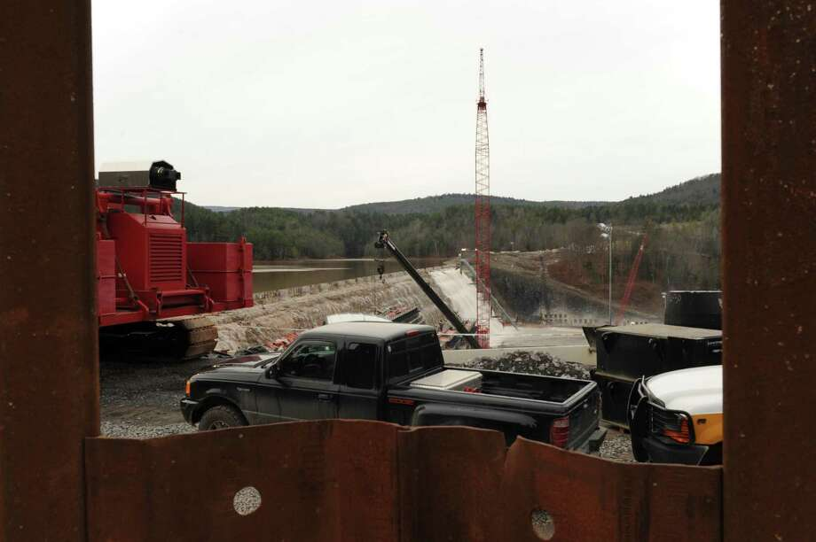 The Gilboa Dam in Gilboa, NY Thursday Nov. 15, 2012. (Michael P. Farrell/Times Union) Photo: Michael P. Farrell