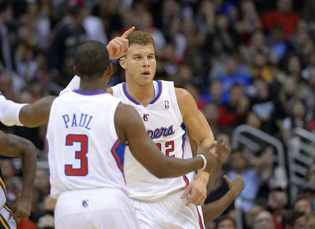 Chris Paul (3) and Blake Griffin have the Clippers reaching new heights, despite Tuesday's defeat. Photo: Mark J. Terrill, Associated Press