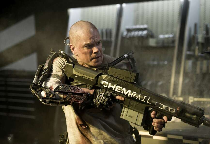 ELYSIUM (Neill Blomkamp's follow up to District 9? Keep me away.)