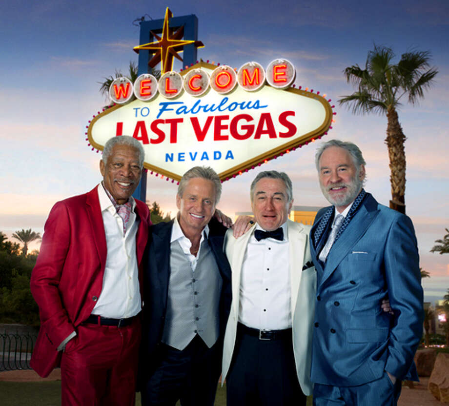 LAST VEGAS (I don't care if it does turn out to be basically a Senior Citizen Hangover, or if every punchline is telegraphed from the first frame, seeing these four Oscar winners cut loose will be worth it.)