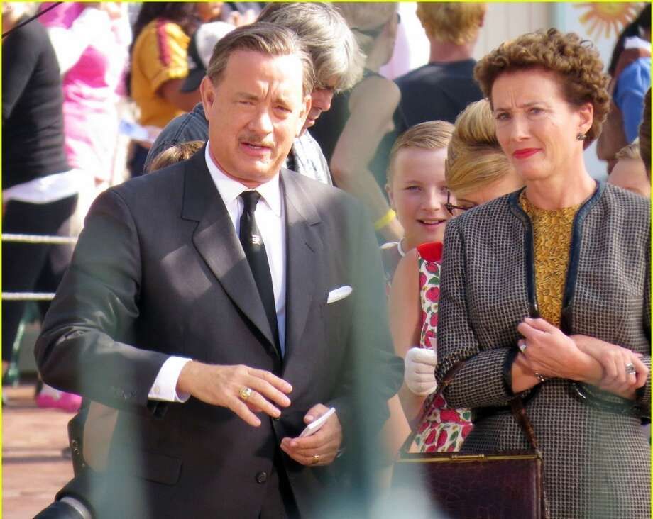 SAVING MR. BANKS (A behind-the-scenes look at the making of Mary Poppins with Tom Hanks as Walt Disney. But from The Blind Side guy?)
