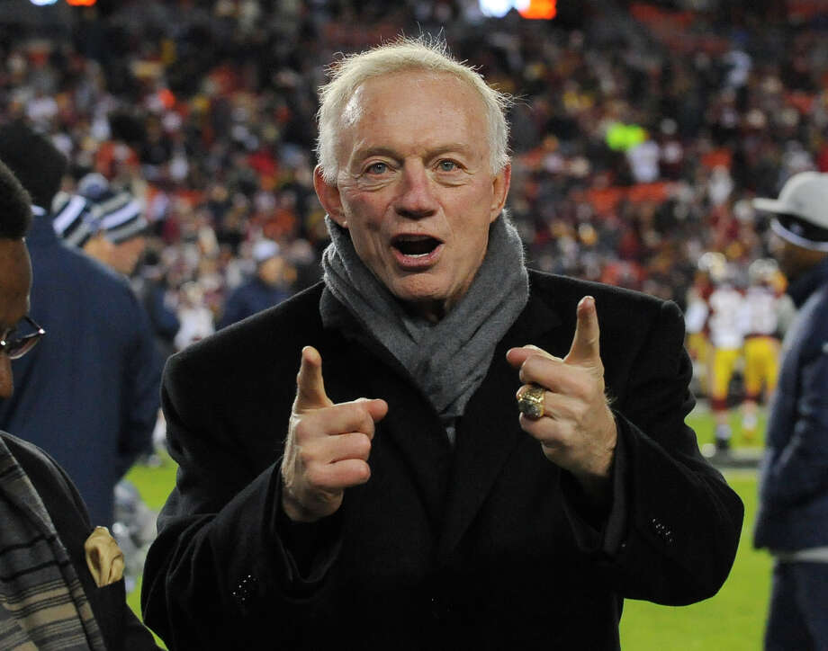 When it comes to the Dallas Cowboys, some of our readers think the best addition is by subtraction: Get rid of Jerry Jones. Photo: Associated Press / FR170623 AP