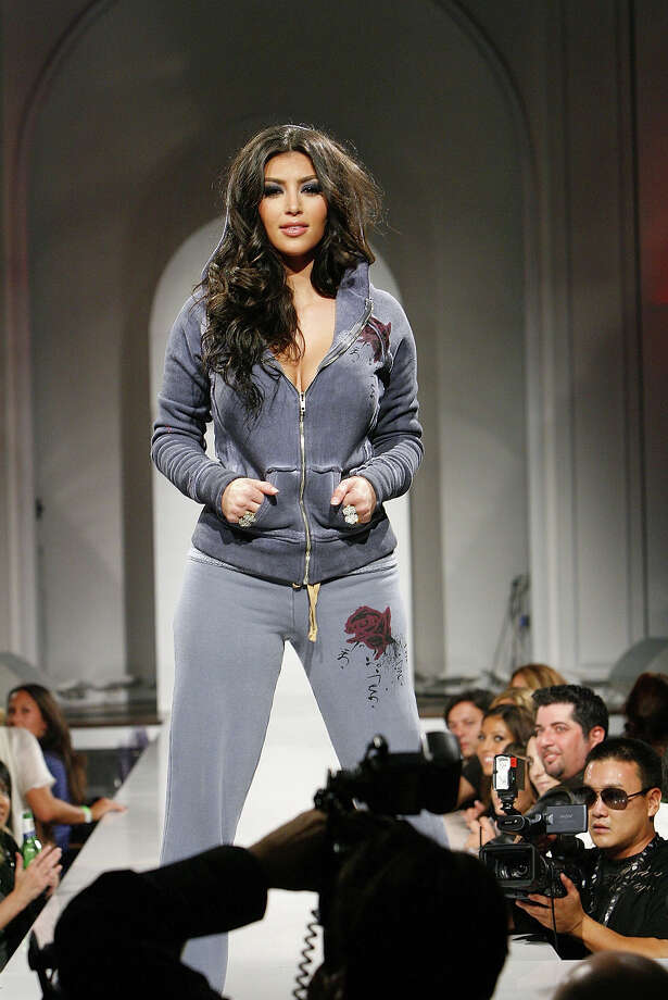 Socialite Kim Kardashian walks the runway at the 2B Free Spring 2008 Collection fashion show at Boulevard3 on October 14, 2007 in Hollywood, California. Photo: Charley Gallay, Getty Images / 2007 Getty Images