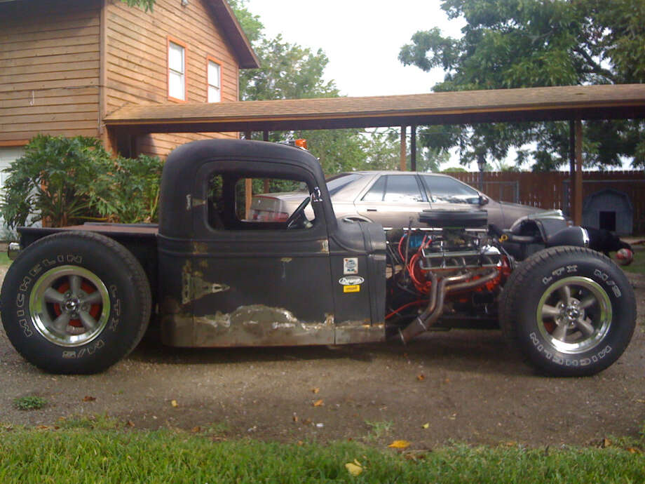 Reader Don Waggonner picked up one of his current rides, this rat rod, in Cutoff La.  (Don Waggonner)