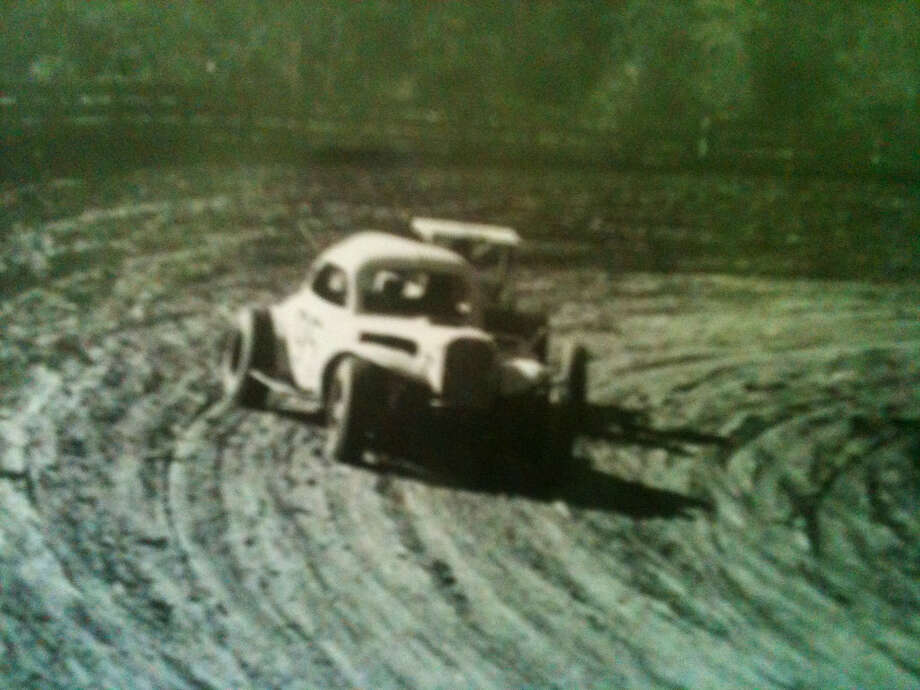 Rat Rod owner Don Waggonner raced locally for a couple of years.  (F.L. 'Mac' MacKenzi photo)