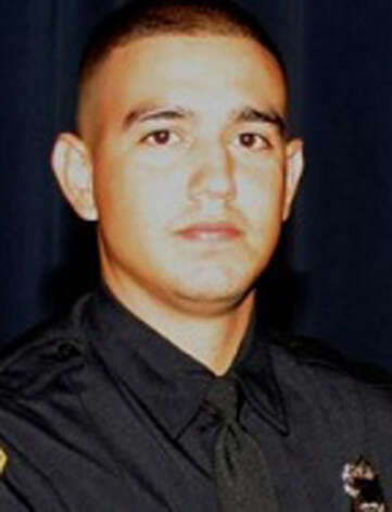 Sergio Antillon, October 29, 2010 Officer Antillon succumbed to injuries sustained two weeks earlier when he was struck by a drunk driver. Officer Antillon was 25 years old and had served 2 months on the Department. Photo: SAPD
