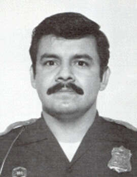 Gilbert Ramirez, Dec. 24, 1983 Patrolman Ramirez was shot and killed by a shotgun-wielding assailant in the 200 block of Tedder while answering a family disturbance call. Ramirez, 34, was a five-year veteran of the SAPD. Photo: SAPD