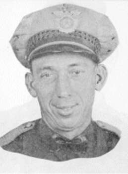 Otto Hillock, Oct. 18, 1945 Investigator Hillock, patrolling on a motorcycle, lost control while trying to avoid a bicyclist in the 2100 block of South Presa. The 18-year veteran died as a result of severe head injuries at age 42. Photo: SAPD
