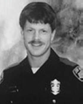 Douglas Goeble, April 20, 1991 Officer Goeble was eating dinner at a restaurant on East Commerce Street when a man and woman involved in a disturbance entered the establishment. Seeing the officer, the man shot him in the head, then turned and shot the woman. Both Goeble and the woman died from their wounds. Goeble was 26 years old, and had served the SAPD for two years. Photo: SAPD
