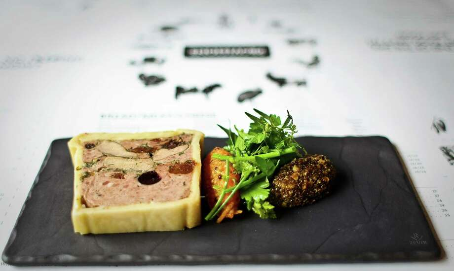Pate en croute.  Photo: Nick De La Torre, Houston Chronicle / © 2012  Houston Chronicle