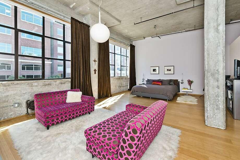A seating area is included in the master bedroom. Photo: Olga Soboleva/Vanguard Propertie