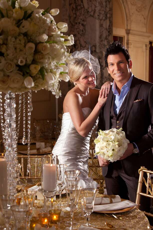 A bride should choose a dress that flatters her and suits her wedding style, David Tutera says. Photo: WE TV