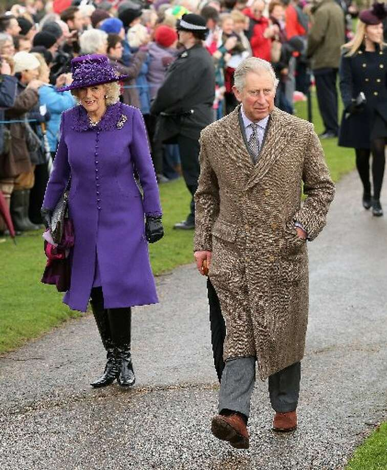 Prince Charles, Prince of Wales and Camilla, Duchess of Cornwall attend the traditional Christmas Day church service at St Mary Magdalene Church, Sandringham on December 25, 2012 near King's Lynn, England. (Photo by Chris Jackson/Getty Images) (Photo by Chris Jackson/Getty Images)