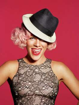 Singer Pink will bring her big show to the Toyota Center on Feb. 21. Photo: PHOTO CREDIT: ANDREW MACPHERSON