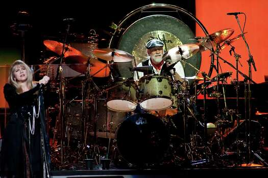 Drummer Mick Fleetwood of Fleetwood Mac plays the band's 'Unleashed' tour at the Toyota Center Saturday evening May 2, 2009.  Nathan Lindstrom/For the Chronicle  Contact:  Jennifer Davenport Contact Phone:  512.680.7527 Contact Cell Phone:  512.680.7527 Photo: Nathan Lindstrom, Freelance / Freelance