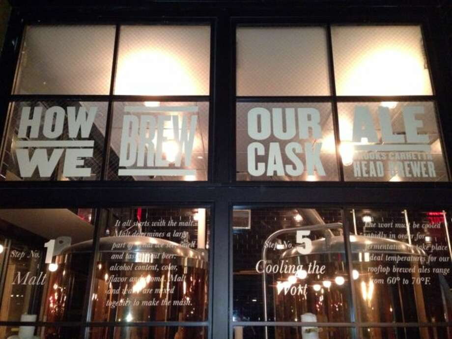 The rooftop Birerria at Eataly features a variety of cask beers made on site. (Ronnie Crocker / Beer, TX)