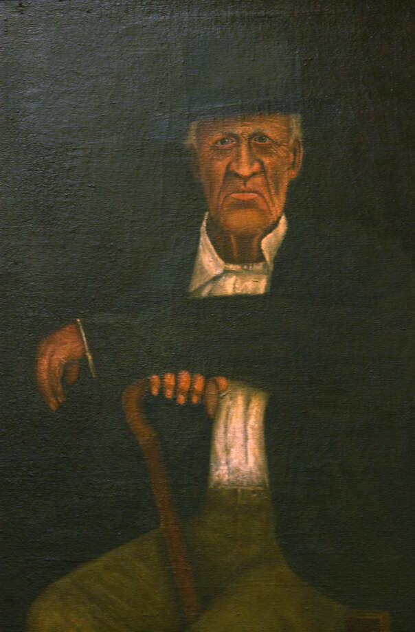 Jose Antonio Menchaca fought in the battle of San Jacinto. After the revolution he returned to San Antonio, served several terms as alderman, and served as mayor pro tem from July 1838 to January 1839. His portrait hangs at the Bexar County Courthouse. Photo: JERRY LARA, SAN ANTONIO EXPRESS-NEWS / SAN ANTONIO EXPRESS-NEWS