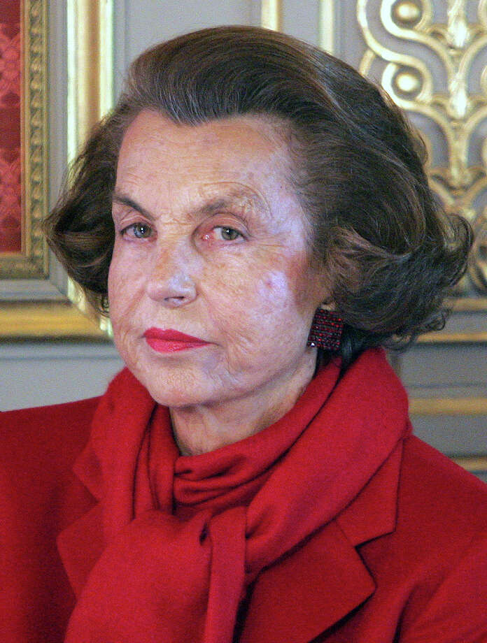 9. Liliane BettencourtNet worth: $30 billionWhy she's so rich: She inherited L'Oreal. / AP2008
