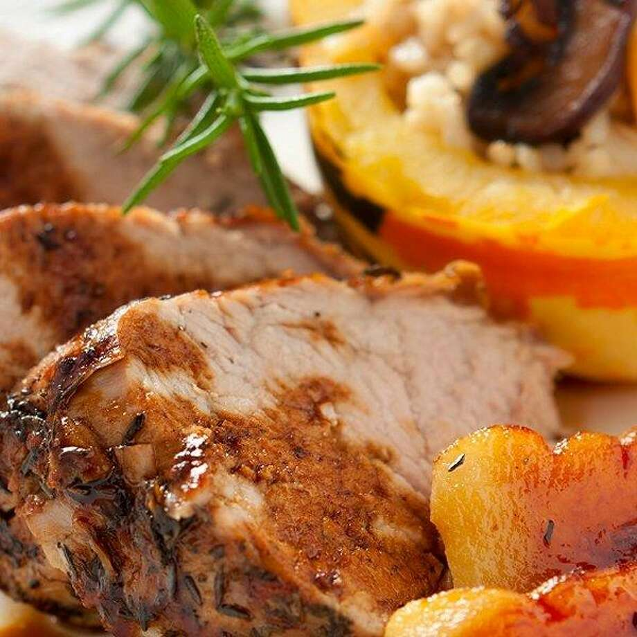 Pork Tenderloin with Sweet Potatoes and Apples/todaysparent.com