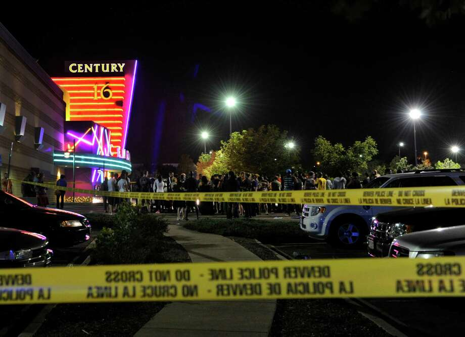 Relatives of victims of the shooting in Aurora, Colo., are upset with owner Cinemark for not reaching out to them earlier. Photo: Karl Gehring, Associated Press / The Denver Post