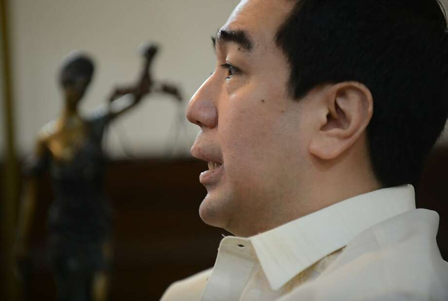 "Andres Bautista, chair of the commission: ""It has become a law of diminishing returns."" Photo: Ted Aljibe, AFP/Getty Images"
