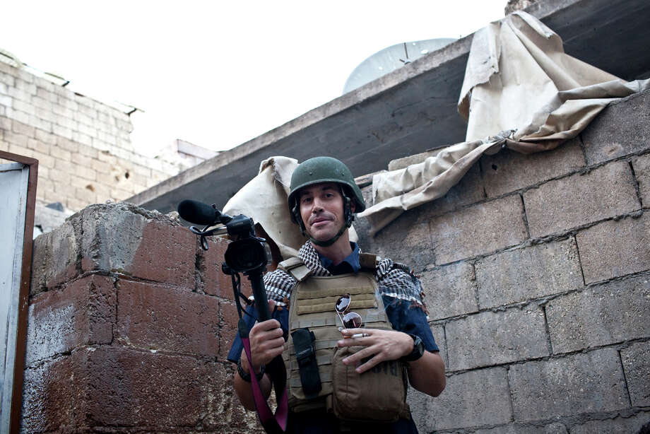 James Foley in Aleppo, Syria, in November 2012. Photo: Nicole Tung, HONS / freejamesfoley.org