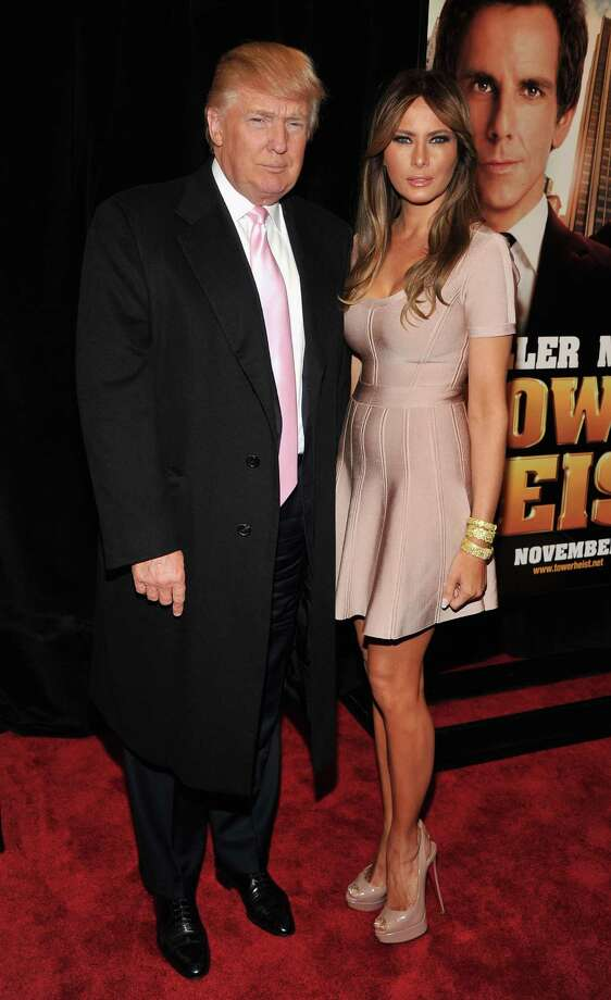 Donald Trump, 66, and wife Melania Trump, 42.  Photo: Theo Wargo, Getty Images / 2011 Getty Images