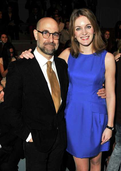 Stanley Tucci, 52, married  Felicity Blunt last year. Blunt, who's 31 or 32,