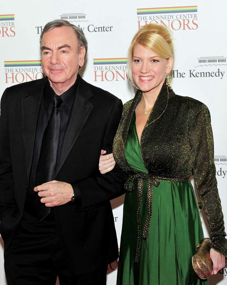 Neil Diamond, 71, married his manager Katie McNeil last year. She's 42 or 43.  Photo: Pool, Getty Images / 2011 Getty Images