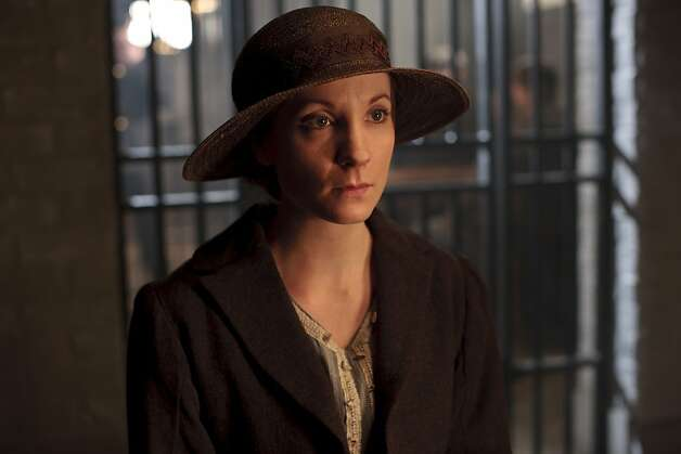 Downton Abbey Season 3Sundays, January 6 - February 17, 2013 on MASTERPIECE on PBSShown: Joanne Froggatt as Anna Bates© Carnival Film & Television Limited 2012 for MASTERPIECEThis image may be used only in the direct promotion of MASTERPIECE CLASSIC. No other rights are granted. All rights are reserved. Editorial use only. USE ON THIRD PARTY SITES SUCH AS FACEBOOK AND TWITTER IS NOT ALLOWED. Photo: Nick Briggs, PBS