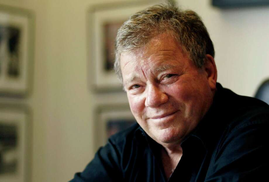 "William Shatner will take part in a Q&A following a June 22 screening of ""Star Trek II: The Wrathof Khan"" at the Tobin Center. Photo: Matt Sayles, AP / AP"