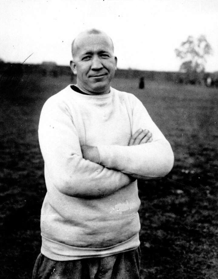 Notre Dame football coach Knute Rockne was born on March 4, 1888. Photo: Anonymous