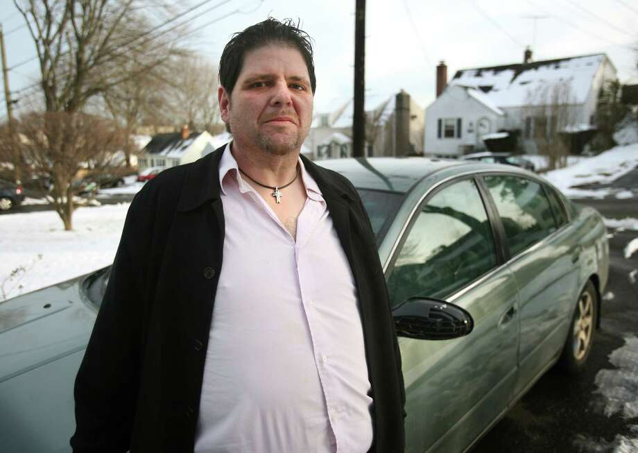 Chris Rodia of Norwalk said he has been threatened after it was falsely reported in blogging that he was a possible second suspect in the Newtown shootings. Rodia's car was pulled over by police in Greenwich on the morning of the shootings. Photo: Brian A. Pounds, Connecticut Post / Connecticut Post