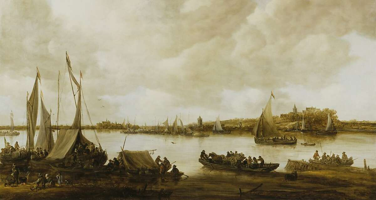 Jan van Goyen, View of the Rhine near Hochelten, 1653. Oil on canvas, 31 7⁄8 x 59 7⁄8 in. (81 x 152 cm). Royal Picture Gallery Mauritshuis, The Hague, Acquired in 1975 (inv. no. 838). Image courtesy of the Royal Picture Gallery Mauritshuis, The Hague