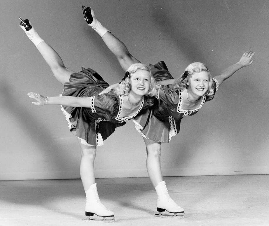 I can't believe I paid $49.50 plus $20 parking for The Shining: On Ice! Actually, these are The Scotvold Twins, performing at the Ice Follies of 1948 -- a full 29 years before Stephen King would write about the Overlook Hotel. They still want to play with you, forever, and ever, and ever ... Photo: Courtesy Ice Follies / ONLINE_YES