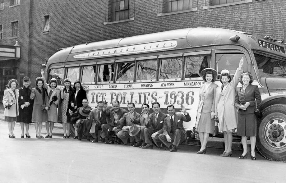 The Shipstads & Johnson Ice Follies bus from the first edition of the ice show. This bus went on a nationwide tour in 1936. (Courtesy Ice Follies) Photo: Kenneth M. Wright Photography / ONLINE_YES