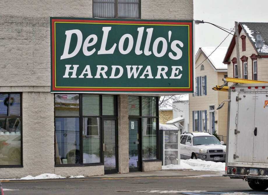Exterior of DeLollo's Hardware on 19th Street in Watervliet Wednesday Jan. 2, 2013.  (John Carl D'Annibale / Times Union) Photo: John Carl D'Annibale