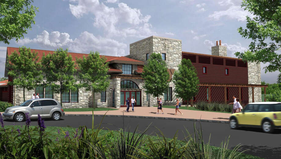 A rendering of the Westport Weston Family Y's planned new 54,000-square-foot center, which is scheduled to open in late 2014 at its Mahackeno campus in northwest Westport. Photo: Contributed Photo / Westport News