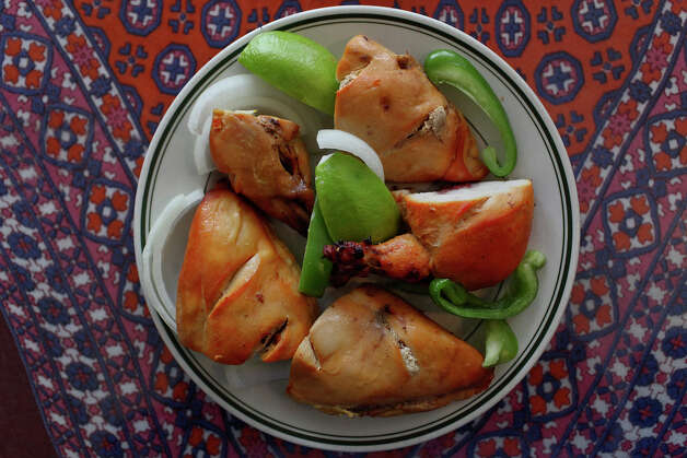 Tandoori Chicken at Simi's India Cuisine in San Antonio on Wednesday, Jan. 2, 2013. Photo: Lisa Krantz, San Antonio Express-News / © 2012 San Antonio Express-News