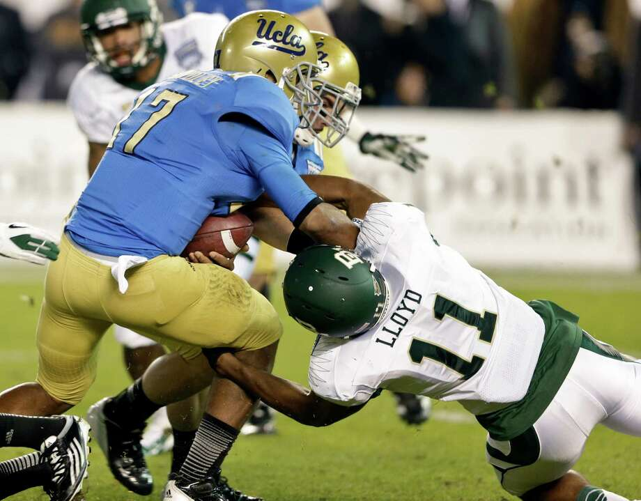 Terrance Lloyd - BaylorThe junior defensive end had four tackles and a sack in the Bears' 49-26 win against UCLA in the Holiday Bowl. Lloyd previously went to Stratford High School, the same alma mater as Colts and former Stanford quarterback Andrew Luck. Photo: Lenny Ignelzi, Associated Press / AP