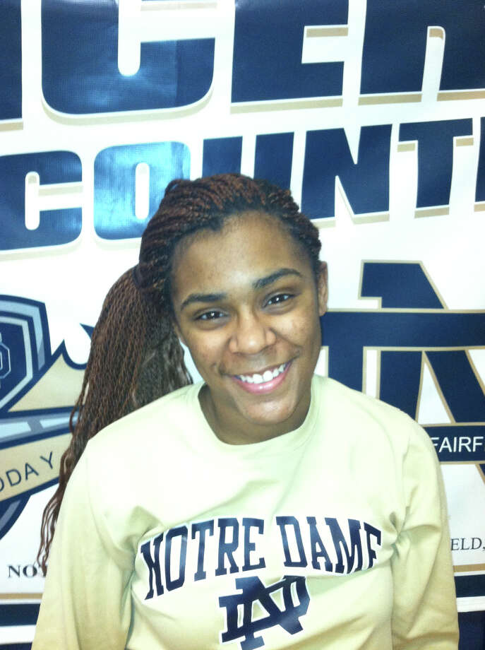 ND-Fairfield girls basketball player Jovan Kingwood is this week's Fairfield Citizen Female Athlete of the Week. Photo: Contributed Photo